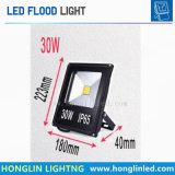 30W des Flutlicht-LED Projektor-Lampe Scheinwerfer-im Freien Beleuchtung Wechselstrom-220V