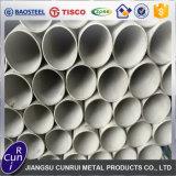 Tubo de acero inoxidable de la categoría alimenticia del fabricante 304 directos con precio competitivo