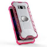 Telefoon Shell van Bumber van de kleur de Transparante Mobiele voor het Geval van de Melkweg van Samsung S8
