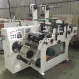 Duplex de recepción térmica Caja Registradora de la máquina rebobinadora y cortadora longitudinal de papel