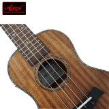 Instrument de musique acoustique de guitare d'Ukulele de concert de contre-plaqué de Koa