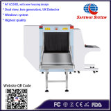 De taille moyenne, double énergie des rayons X des bagages scanner avec la pénétration de 40mm en acier