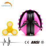 Protección auditiva baratos orejeras de PVC de la banda de sujeción para niños