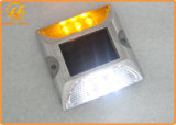 Perno de Estrada Solar LED Marcador do pavimento de alumínio