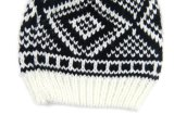 男女兼用の編まれたジャカード冬の暖かい帽子の帽子(HW150)
