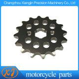 Roda dentada de aço 14t da parte dianteira da motocicleta da roda dentada do metal com baixo preço