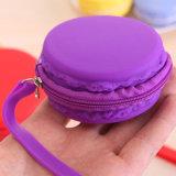 새로운 7명의 색깔 여자 소녀 귀여운 형식 Macaron 케이크 모양 실리콘 방수 동전 부대 주머니 지갑 지갑 Kawaii 지갑