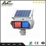 Горячая продажа рекламных высокая мощность долговременного использования солнечной энергии во включенном состоянии сигнальной лампы