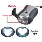 Heiße verkaufenfackel-Taschenlampe des Leistungs-nachladbare Dynamo-LED