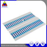 Wärmeempfindlicher selbstklebender Papieraufkleber für schützenden Film