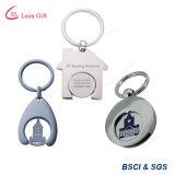 Metallo su ordinazione all'ingrosso Keychain promozionale di marchio