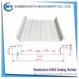 Preço baixo do rolo de Metal Zipado formando máquina de telhados