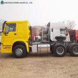 Sinotruck HOWO 6X4 10 타이어 원동기 트레일러 트럭 헤드