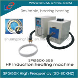 Máquina de aquecimento Spg50K-35b da indução da carcaça de rolamento com cabo longo de 3m