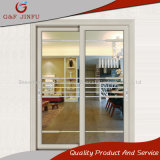 Alluminio rivestito di potere moderno di stile e portello scorrevole di vetro