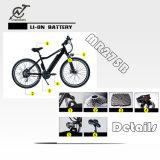 Doentube電池が付いている高い発電48V 500W山の電気バイク