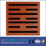 Comitato acustico di legno dei materiali sicuri ecologici