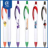 Migliore penna di Ballpoint di plastica di vendita con il marchio di abitudine della clip