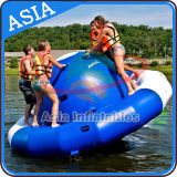 Bote inflável do disco de água do disco de água, barco de disco inflável UFO louco