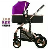 Leinengewebe-materieller Baby-Spaziergänger 2 in 1