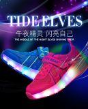 Schoenen van Heelys van de Schoenen van de hete de Verkopende LEIDENE van de Manier Lichte Rol van Schoenen