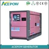 Le silence de la Phase 3 150 kVA Clooed générateur de l'eau par le moteur Cummins