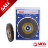 Professional Sali Fil d'acier fil industriel de brosses de roue pour le polissage