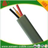 BVVB doble plana y cable de tierra aislados con PVC, Cable Eléctrico Manufature Cable 2,5 mm2