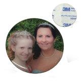 Изготовленный на заказ напечатанный металлом стикер семьи логоса для партии семьи (xd-031719)