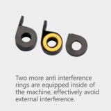 1,5 mm de espesor cubierta de acero inoxidable de alta velocidad de secado rápido Secador de manos para aseos