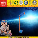 Particelle elementari della plastica dei bambini