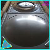 1m3 quadrado do tanque do reservatório de água em aço inoxidável