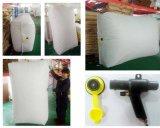 Envoi international utilisé PP tissés Air carrés de Dunnage sac pour le conteneur de 20/40 ft