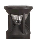 Lámpara solar del césped
