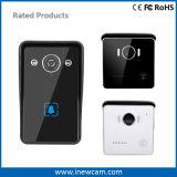 Wireless Wi-Fi Timbre Inteligente de Vídeo con Detección de Movimiento, Alarma de manipulación, infrarrojos de visión nocturna, impermeable, de audio bidireccional.