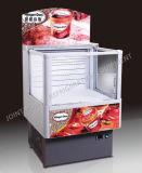 小型アイスクリームの表示フリーザーかGelatoの表示クーラー