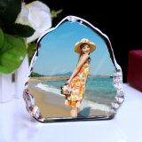 Atacado Crystal Photo Frame Craft Iceberg para Souvenir Gift