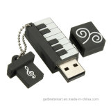Comercio al por mayor de Piano de silicona de 3D USB Flash Drive para regalo promocional