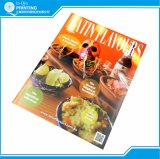 Impressão de revista digital em cores inteiras on-line