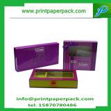 Роскошные картонная коробка косметик конструкции/коробка дух