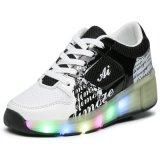 아이들의 형식 Runing 단화와 LED 빛난 단화