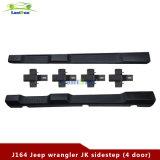 Côté en plastique ABS noir étape pour Jeep Wrangler jk