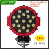6pouce 51W Projecteur LED LED LED des feux de conduite pour la conduite hors route des phares de travail
