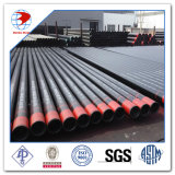 DIN1629 Seamless Quente-rolado St37 Carbon Steel Pipe com Black Paiting