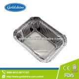 Matériau aluminium contenants de nourriture à emporter