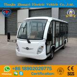 Автомобиль Zhongyi 14 Seater электрический Enclosed Sightseeing с задним сиденьем