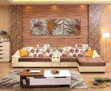 2016 illustrations modernes de salle de séjour des modèles en bois de sofa