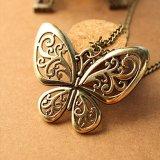 Сова пуховые сердце бабочка подвесная цепочка
