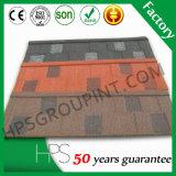 Type tuile de bardeau de certificat de Soncap de toiture enduite de pierre colorée
