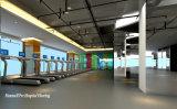 Профессиональные дешевые резиновые кафельный пол в крытый и открытый тренажерный зал и фитнес клуб